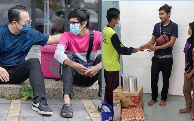 Giliran Anas 'FoodPanda' pula bantu orang yang memerlukan