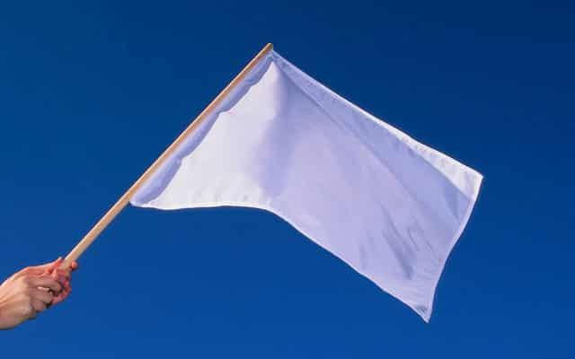Kempen kibar bendera putih elak bertindak luar kawal