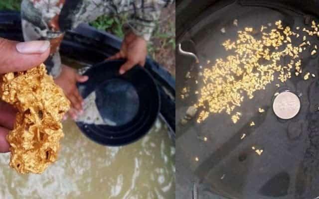 Ini tiga daerah di Pahang yang terkenal kaya dengan emas