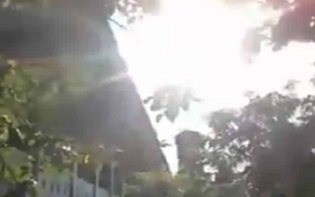 Tular video matahari terbit dari utara di Sulawesi