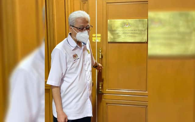 Gempar !!! Status FB Ismail Sabri tentang 'tutup pintu depan' cetus spekulasi kalangan netizen