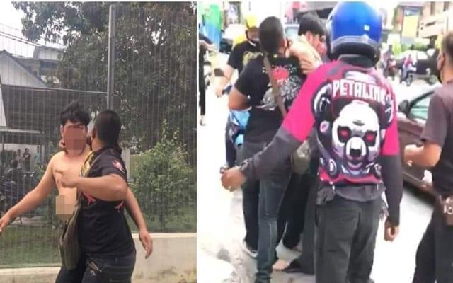 5 'Foodriders' kena tahan Polis sebab belasah pelanggan yang didakwa hina Islam