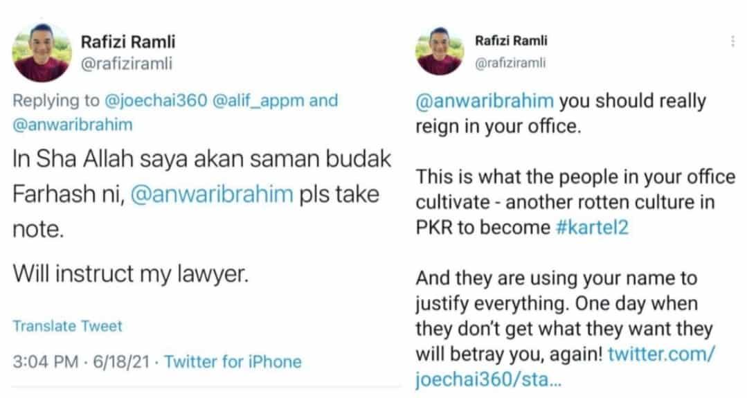 Rafizi dedah 'kartel' baru dalam PKR