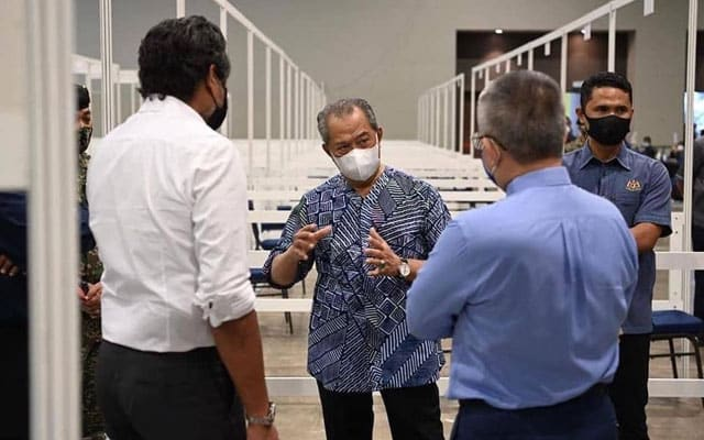 Imuniti Kelompok : Masih ikut jadual, kata Muhyiddin