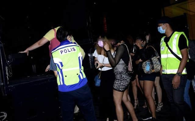 Disko bawah tanah tetap aktif waktu PKP, 58 ditahan