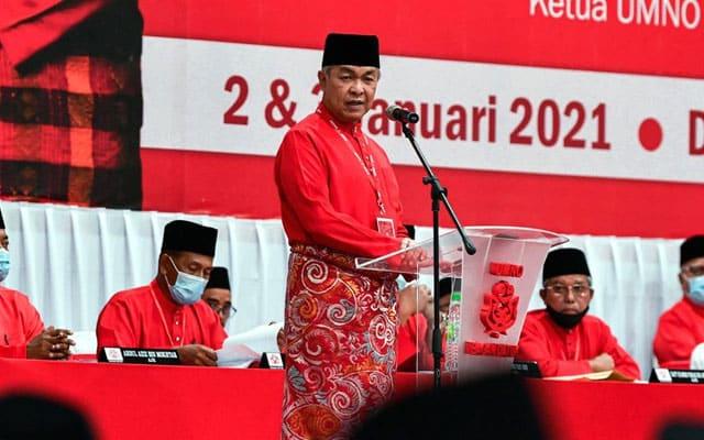Panas !!! Zahid kekal terajui Umno hingga 2023