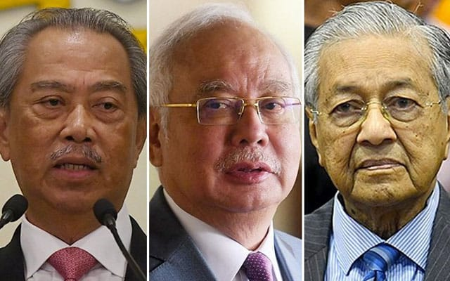 Panas !!! Mahathir anggap Muhyiddin kini sama macam Najib