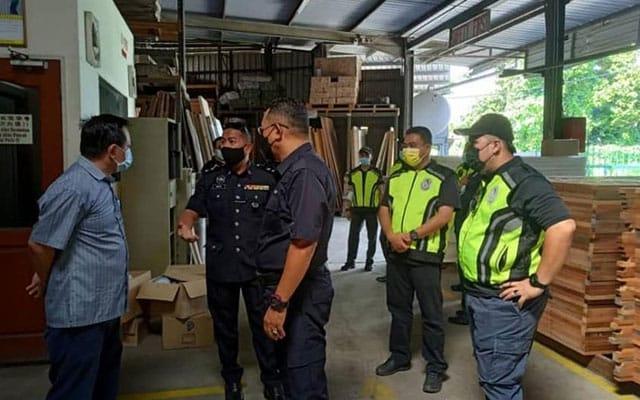 Pengisytiharan palsu : Kilang kayu dikompaun RM10,000 guna kelulusan MITI untuk beroperasi