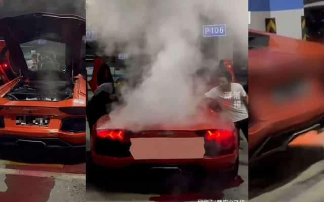 Lelaki rugi RM323,506 akibat panggang daging babi pada ekzos Lamborghini