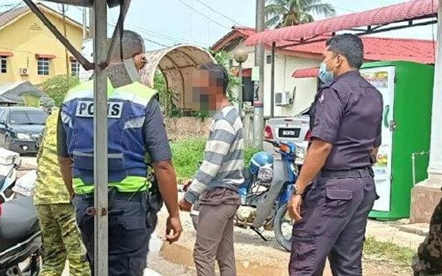 Lelaki guna alasan cari siput untuk menyelinap masuk kawasan PKPD melalui tali air