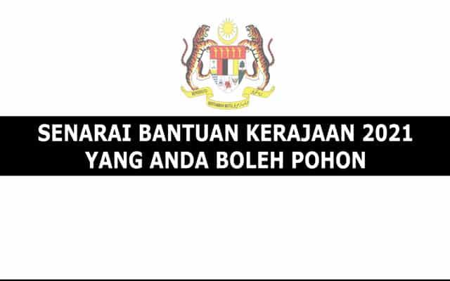 Terkini !!! Senarai pautan untuk mohon 17 bantuan sempena PKP yang telah diumumkan kerajaan