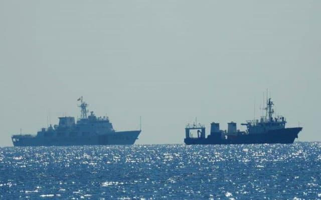 Gempar !!! Maritim sahkan kapal Pengawal Pantai China (CCG) dikesan ceroboh perairan Malaysia