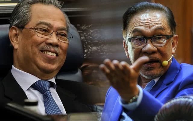 Anwar gesa Muhyiddin dengar nasihat Agong dan Raja-Raja Melayu