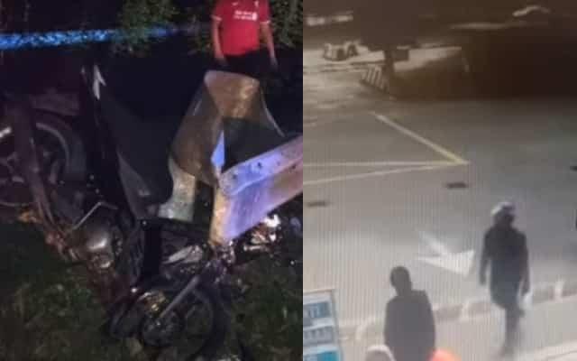 Lelaki maut kemalangan lepas conteng tembok istana, tumbuk polis wanita