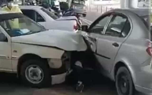 Pemandu teksi mengamuk rempuh 3 kenderaan