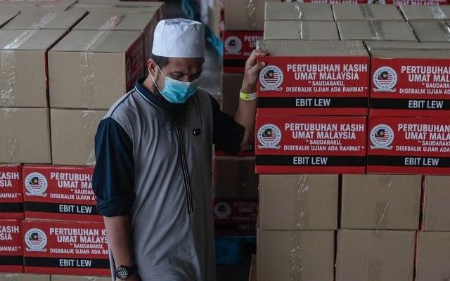 Sah !!! Barangan sumbangan Ebit Lew sudah masuk Gaza 2 hari lepas
