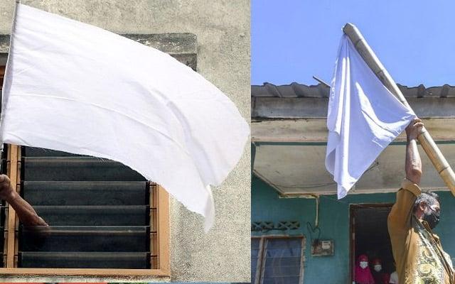 Polis peronda salur maklumat kepada NGO lokasi rumah kibar bendera putih