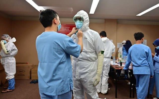 114 doktor Indonesia maut kerana Covid-19 sepanjang Julai