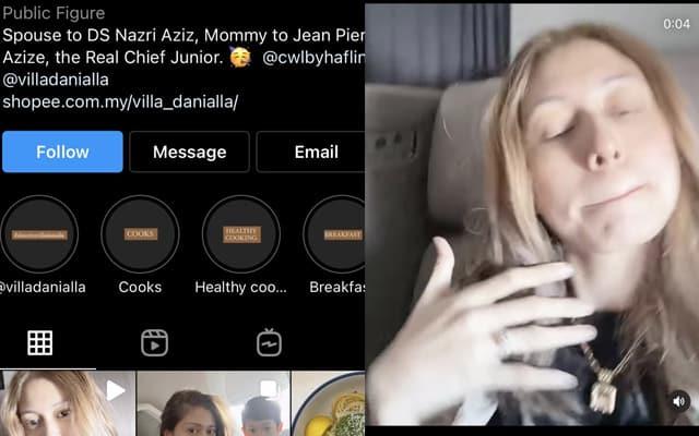 Netizen naik angin tengok gelagat isteri Nazri Aziz