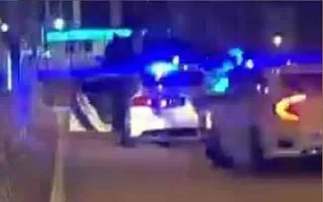 Gelabah takut dikompaun Polis, lelaki pecut Honda Civic