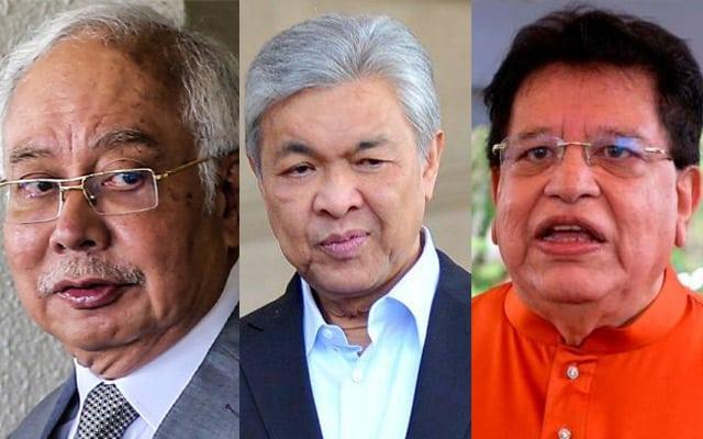 """Panas !!! """"I dah lepas… U belum"""", benarkah ini kata-kata Ku Nan kepada Zahid,Najib?"""