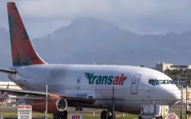 Pesawat Boeing 737 terpaksa mendarat cemas ditengah lautan
