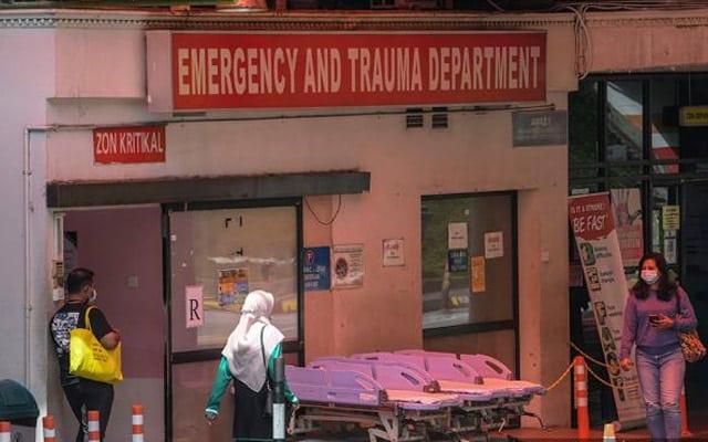 Wad kecemasan kritikal, pesakit terpaksa tunggu katil kosong