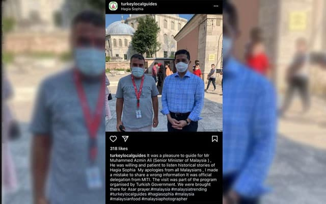 Lawatan Azmin bersama 'keluarga' ke Turki pula jadi kecoh