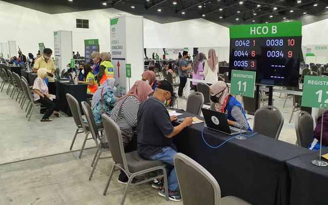 7 petugas PPV Setia City Convention Centre sah positif Covid-19
