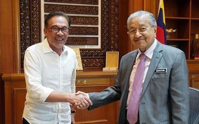 Gempar !!! Tun M mahu Anwar jadi PM