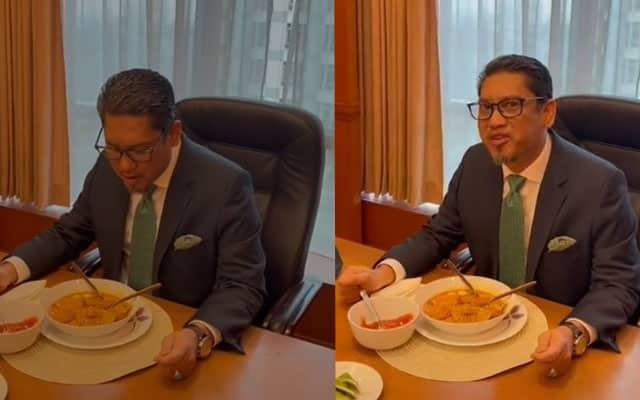 """Review 'Mee Kari Putrajaya"""", Netizen tanya tu je kerja penasihat?"""