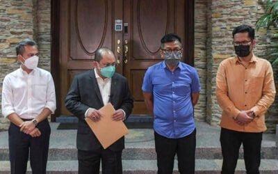 Bekan Adun hantar surat ke Istana Negara, mohon Sultan Nazrin nasihat TYT Melaka